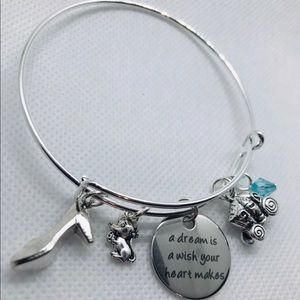 Jewelry - a Dream is a Wish your heart makes bangle bracelet